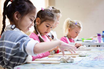 Little Kids clay class