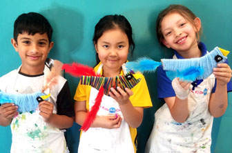 Creative Kids Wool Wrap Birds