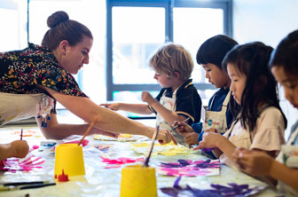 Creative Kids class in progress