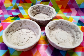Clay bowls by Creative Kids