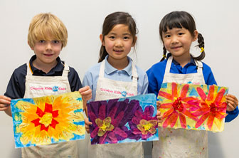 Collage Flowers by Creative Kids