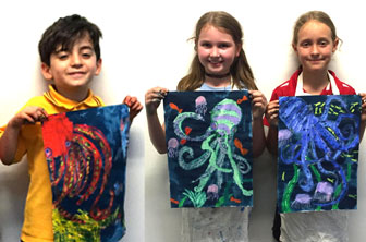 Octopus Drawings by Creative Kids
