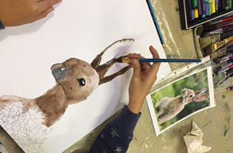 Rabbit Drawing Creative Kids Art Class